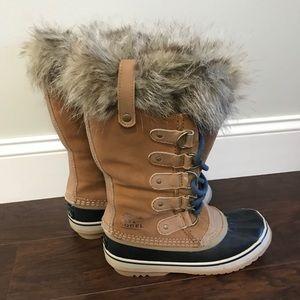Sorel Joan of Artic boots. Super warm and cozy!